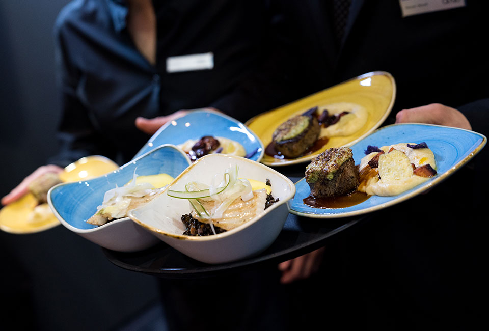 Erfolgreiches Messecatering und VIP-Catering mit dem Event Caterer dine&shine